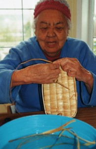Mary Basket Weaving