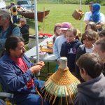Culture Sharing Ivan Hat Weaving